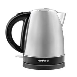 Chefman 1.7 Liter Fast Heating Electric Hot Water Tea Kettle