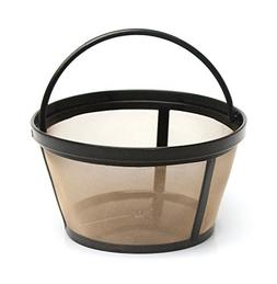 1 X 4-Cup Basket Style Permanent Coffee Filter fits Mr. Coff