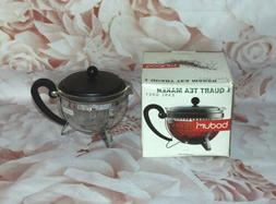 BODUM Tea Maker Earl Grey 1 Quart 32 OZ NEW