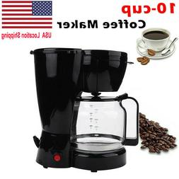 10 cup coffee maker auto shut off