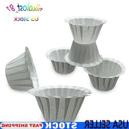 100pcs For Keurig K-Cup Pod Paper Coffee Filters Cup Replace