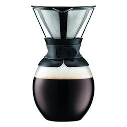 Bodum Pour Over Coffee Maker with Permanent Filter, 51 Ounce