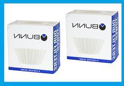 **2** 100ct BUNN Coffee Tea Filters Home Brewer 8-12 Cup Mak
