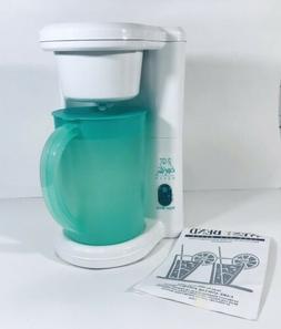 West Bend 2 Qt Iced Tea Maker Model 6050 E Instructions and