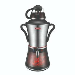 NEW 2018 Electric Samovar Tea Maker, Stainless Steel, Firepl