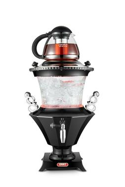 New 2019 Modern Electric Glass Samovar Tea Maker, Stainless