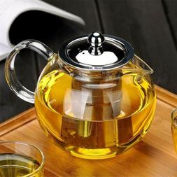 22oz/32oz/43oz Glass Teapot with Removable Infuser Tea Maker