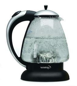 Capresso 259.04 H2O Plus Water Kettle, Matte Silver, 48-Ounc