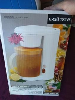 West Bend 3 Quart Iced Tea Maker 68003, New Open Box