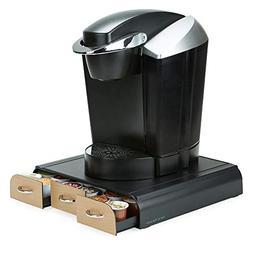 Mind Reader 36 Capacity Coffee Pod Drawer - Wood Veneer