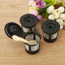 3Reusable Refillable K-Cup Coffee Filter Pod for Keurig K50K