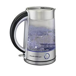 Hamilton Beach Modern Glass Kettle, 1.7 Litter