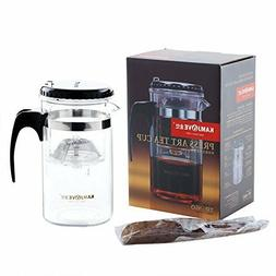 KAMJOVE 500 ml Glass Teapot Chinese Tea Maker With Infuser M