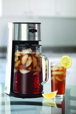 Capresso 624 White/Stainless Iced Tea Maker Infuser