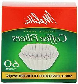 Melitta 63229 Single Serve Coffee Filters For JavaJigTM 60 C