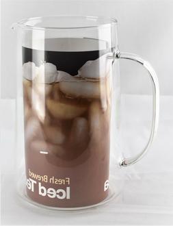 Capresso 6624 Ice Tea Glass Pitcher, 80 oz. - 4323sw