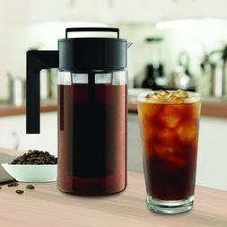 900ML Cold Brew Iced Tea Maker With Airtight Seal Silicone H
