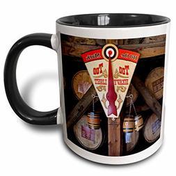 3dRose 90417_4 Kentucky, Makers Mark Bourbon in Wood distill