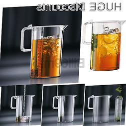 Bodum 10619-10S Ceylon Tea Jug, 101 oz, Clear