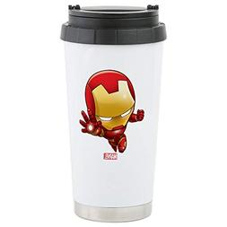 CafePress Iron Man Stylized 2 Stainless Steel Travel Mug Sta