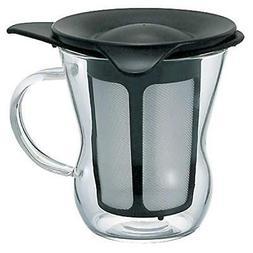 Hario 1-Cup Tea Maker, Black