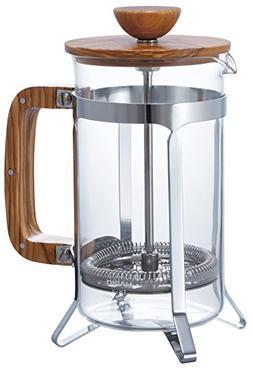 Hario Olivewood Cafépress Coffee and Tea Press, 600ml