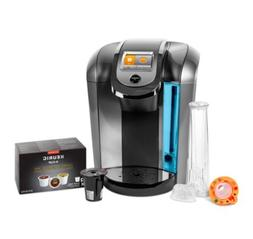 Keurig K525C Single Serve Coffee Maker, 12 K-Cup Pods and My