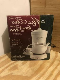 Mrs. Tea for Two Hot Tea maker 15 oz