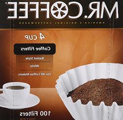 "Rockline Industries Inc JR100 ""4 Cup"" 100-Count Coffee Filte"
