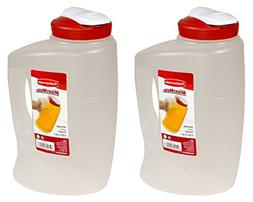 Rubbermaid 085275708066 1776501 3-Qt. Seal N' Saver Pitcher/