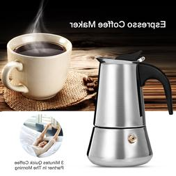 A1 100/200/300/450ML Stainless Steel Coffee Pot Latte <font>
