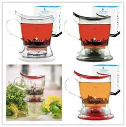 GROSCHE,Aberdeen PERFECT TEA MAKER set with coaster,Tea Stee