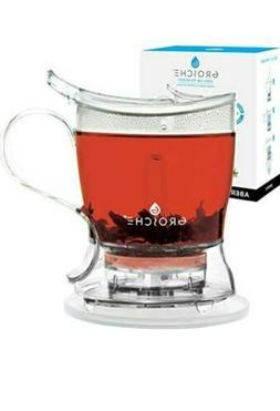 GROSCHE Aberdeen PERFECT TEA MAKER Tea pot with coaster, Tea