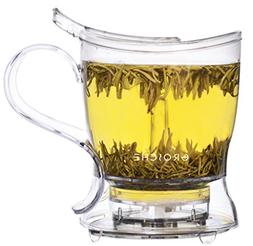 Grosche Aberdeen Tea Steeper, Tritan, 1000ml 34 oz, Tea Make