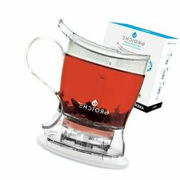 GROSCHE Aberdeen Tea Steeper, Teapot and Tea Infuser, 17.7 o
