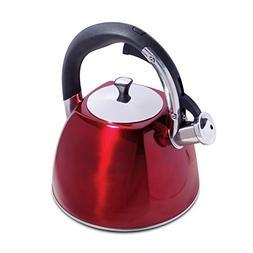 Mr. Coffee 111926.01 Belgrove Stainless Steel Whistling Tea