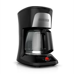 Black & Decker Coffee Maker 5 Cup Duralife Glass Carafe Blac