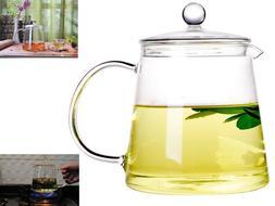 Borosilicate Glass Teapot Teakettles Gas Electric Stovetop K