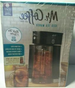 Brand New 2.5 Quarts Mr Coffee Tea Cafe Iced Tea Maker 2 in