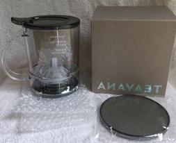 ☕️Brand New In Box, TEAVANA Perfectea Tea Maker in BLACK
