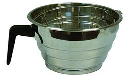 Bloomfield 8707-6 Brew Basket for Decanter Brewers, Stainles