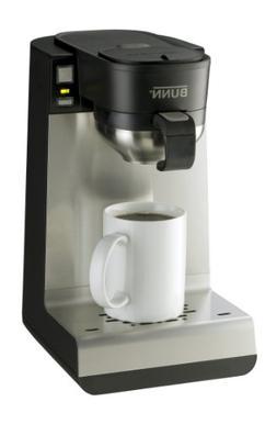 BUNN My Cafe Single Serve Pod Brewer, Black/Stainless Steel