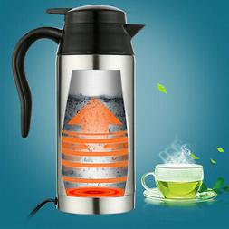 Car Heating Cup 12/24V 750ml Coffee Tea Maker Vehicle Thermo