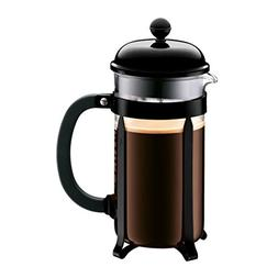 Bodum Chambord French Press Coffee Maker, 34 oz, Black