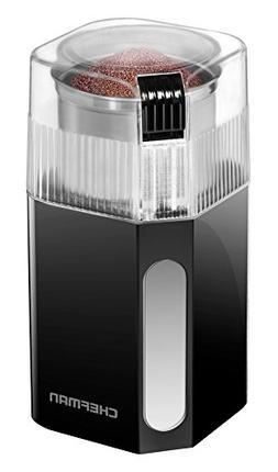 Chefman Coffee Grinder Powerful 250 Watt Electric Mill Fresh