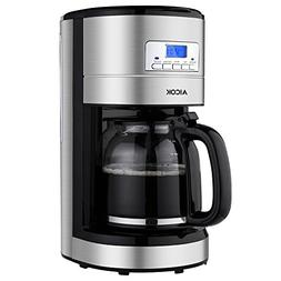 Coffee Maker Aicok Filter Coffee Machine, 12 Cup Programmabl
