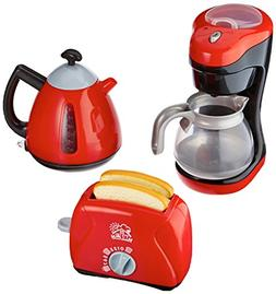 PlayGo My Coffee Maker/My Toaster/Tea Time Kettle Chef Kitch