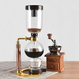 coffee tea maker siphon pot manual coffee