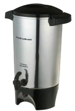 Coffee Urn Silver Commercial 45 Cup Tea Maker Pot Warmer Hot