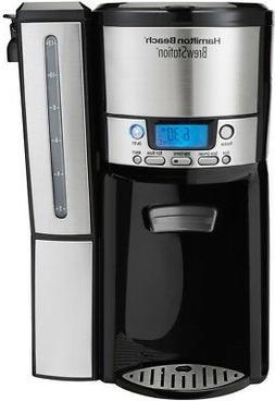 Coffeemaker 12-Cup Dispensing Programmable in Black with Wat